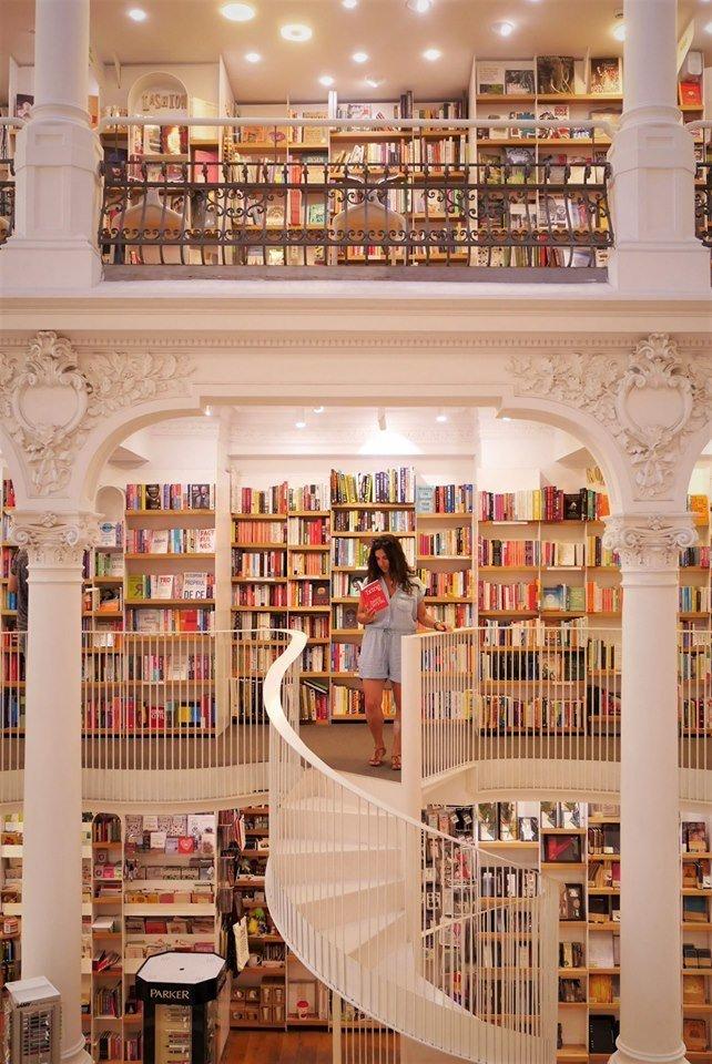 La librería más bonita de Bucarest