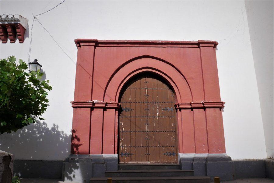 Arquitectura mudéjar, iglesia de Pitres, ruta en coche por la Alpujarra