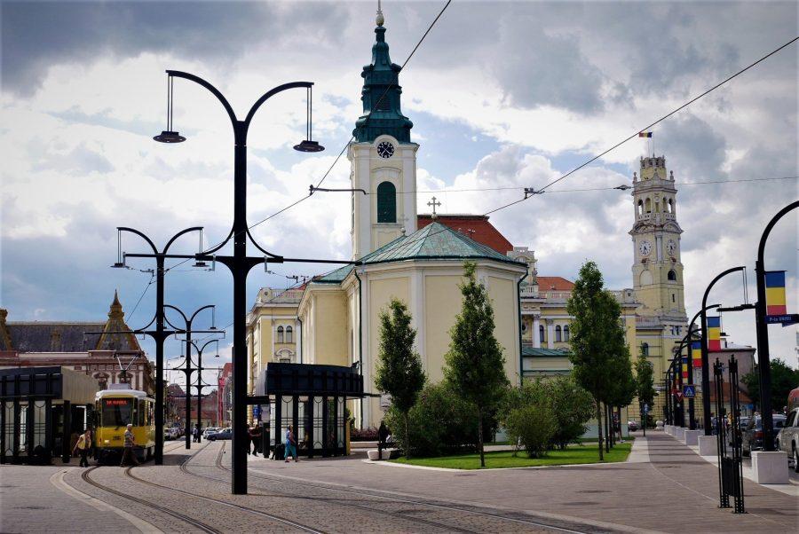 Centro histórico de Oradea, Rumanía