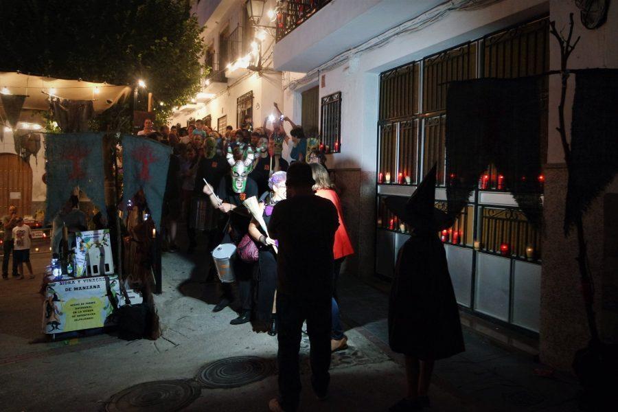 Desfile de diablos, Feria del Embrujo en Soportújar