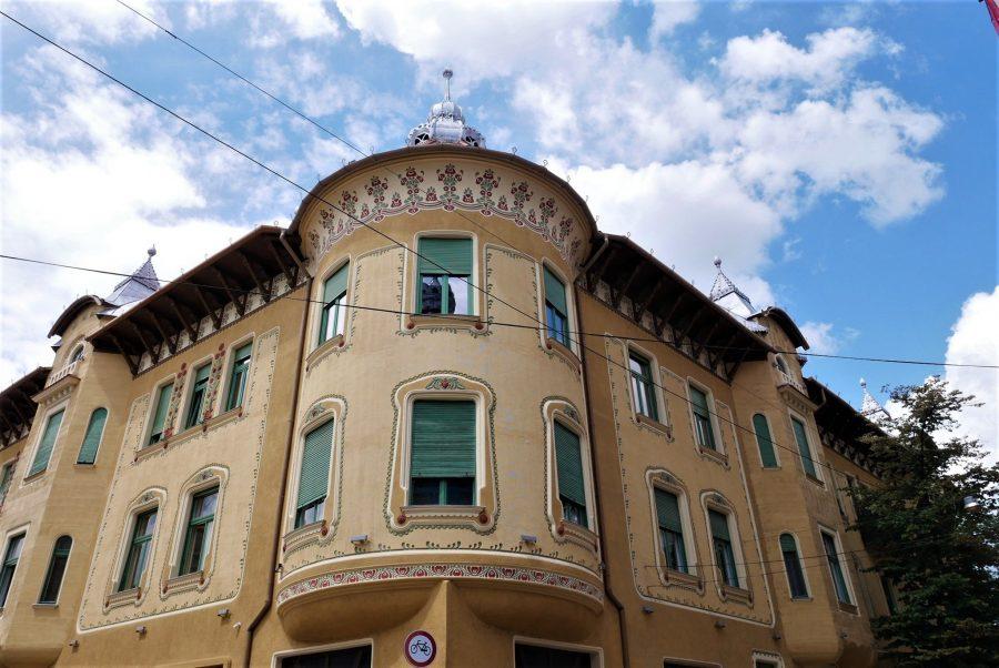 Edificios Art Noveau del centro de Oradea