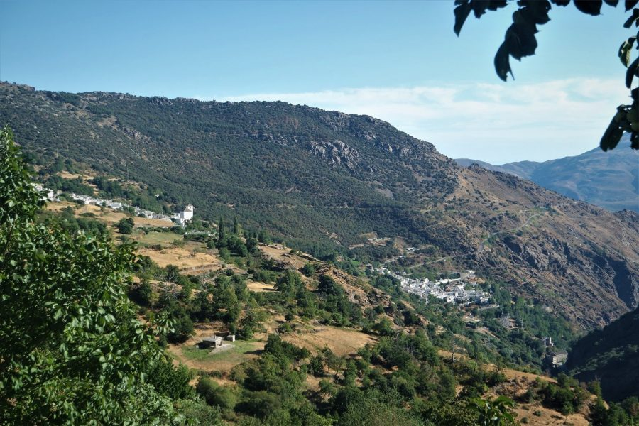 El Barranco del Poqueira, la Alpujarra de Granada