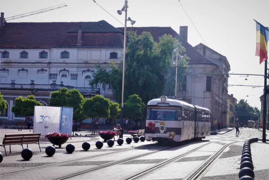 El viejo tranvía de Timisoara