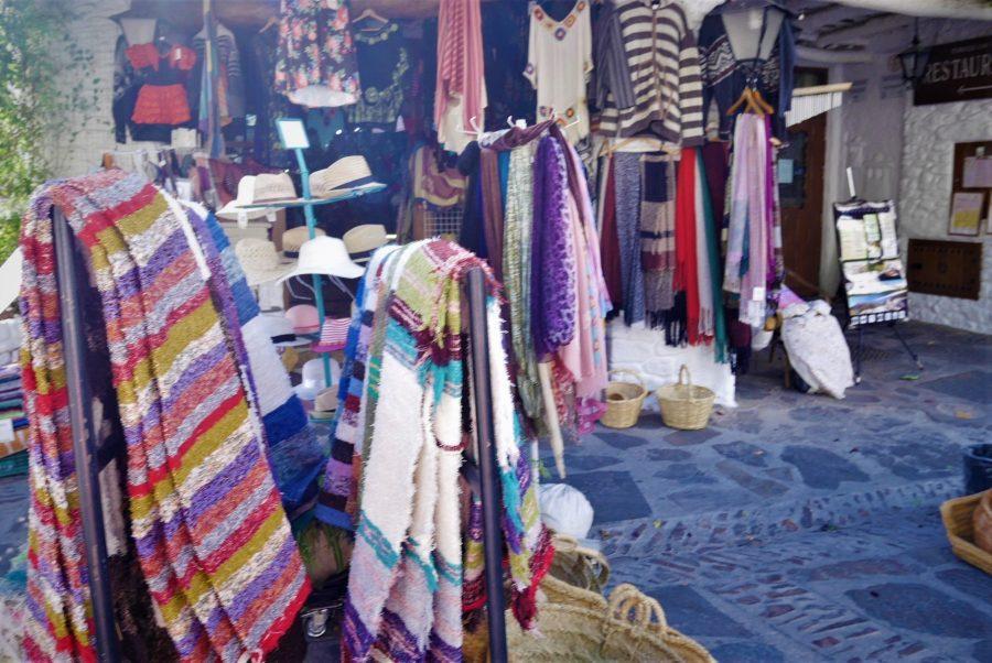 Jarapas y artesanías típicas de la Alpujarra granadina
