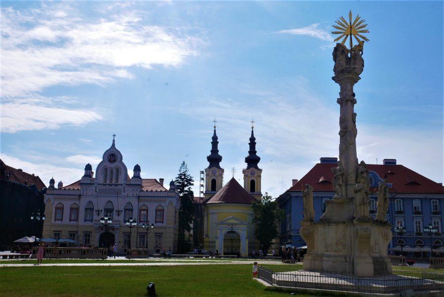 La plaza Unirii es la más bonita de Rumanía, Timisoara