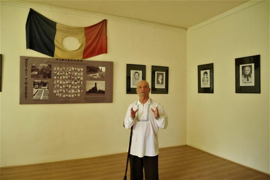 Uno de los héroes de la Revolución Rumana