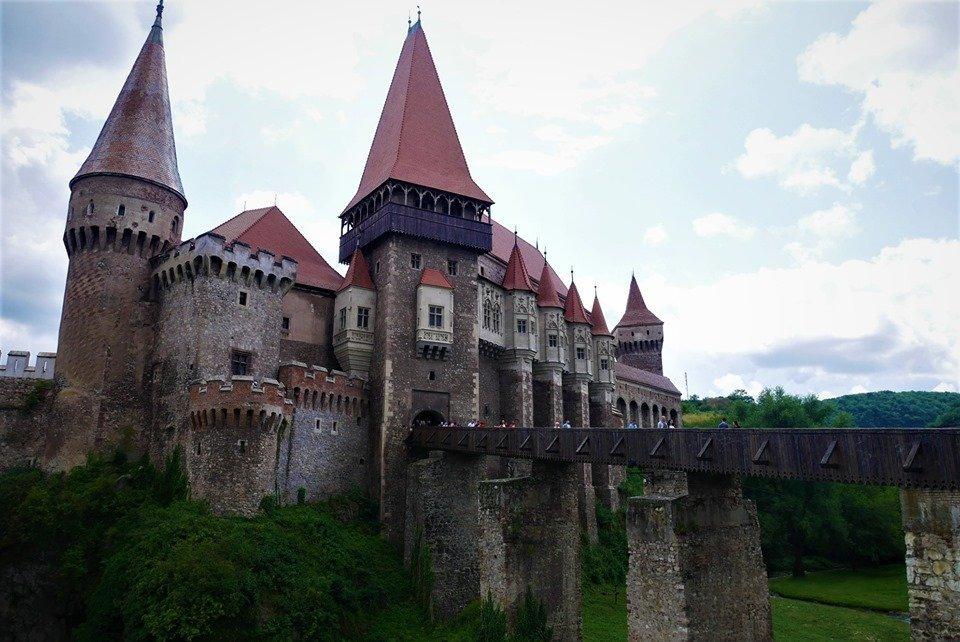 castillo de Hunyad, Transilvania, Rumanía