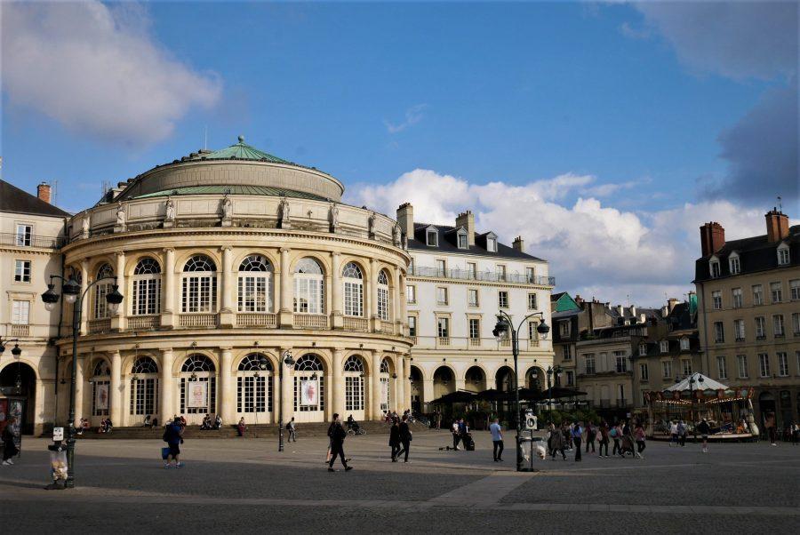 La ópera de Rennes, ruta por la Bretaña francesa en coche