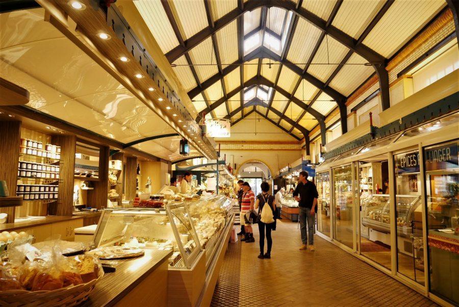 Mercado de abastos de Rennes