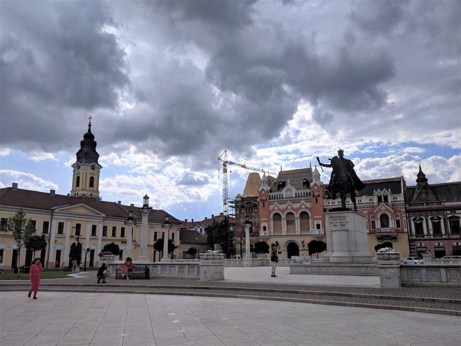 Plaza Unirii, Oradea