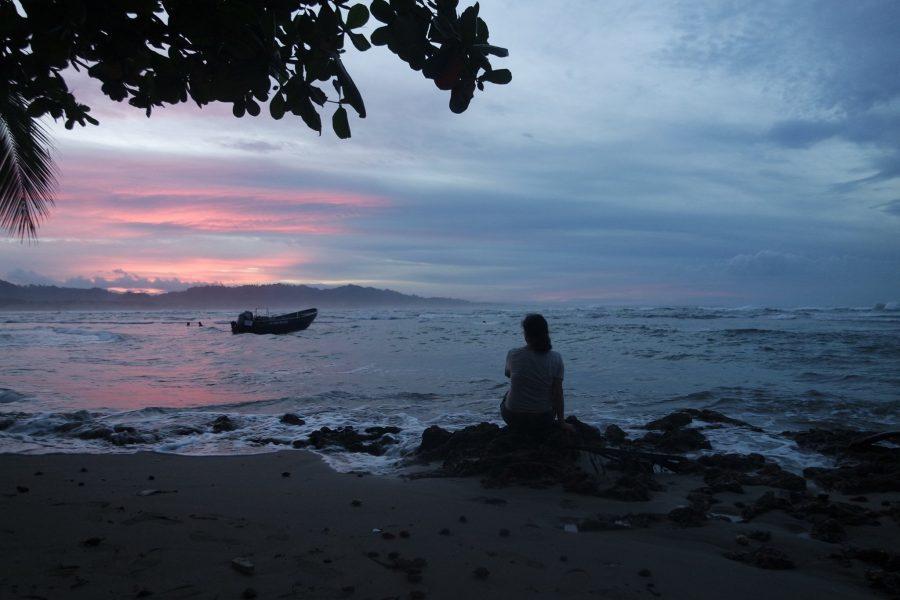 Atardecer en Puerto Viejo, qué ver en Costa Rica