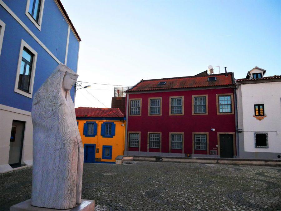 Barrio de pescadores en Aveiro