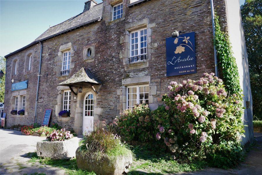 Casas de piedra en la Bretaña, Rochefort-en-Terre