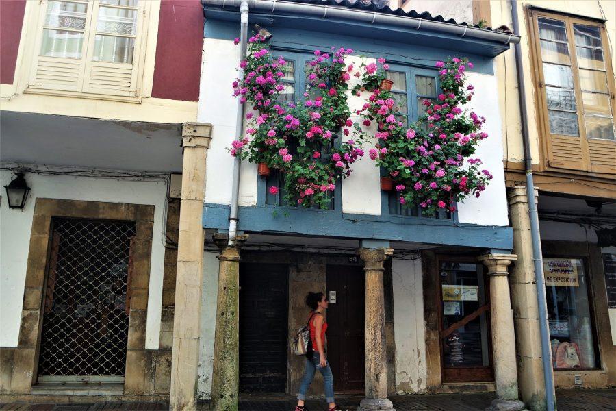 Centro histórico de Avilés, ruta por Asturias en coche