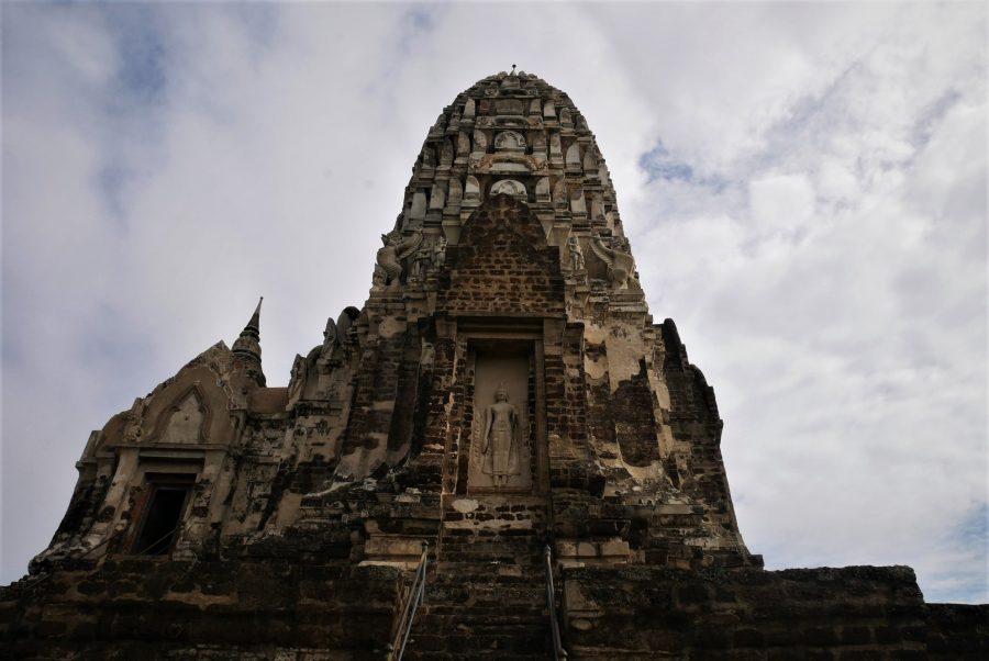 Estupa principal, memorial de Wat Ratchaburana