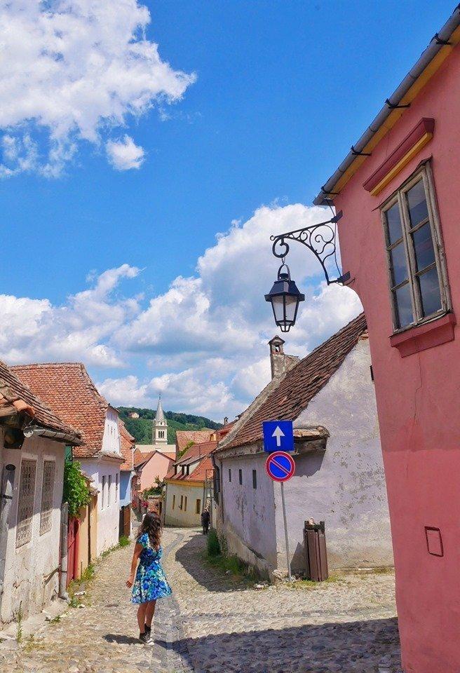 Sighisoara, villa natal de Drácula