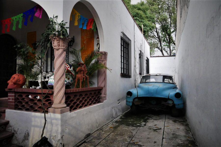 Casas de barrio de Coayacán en Ciudad de México