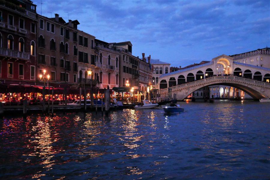 Venecia al anochecer