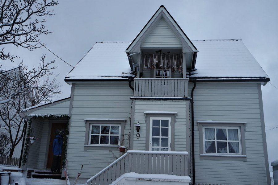 Casa típica de las islas Lofoten