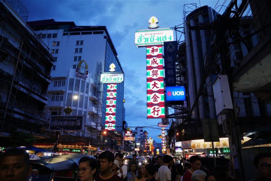 China Town, Bangkok, ruta de 15 días por Tailandia