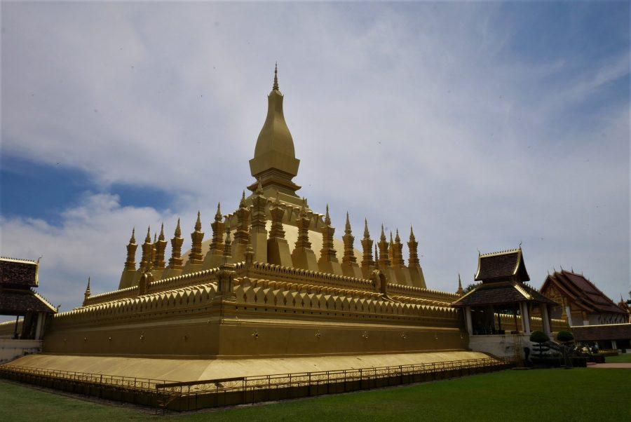 Estupa Dorada, qué ver en Vientiane, la capital de Laos
