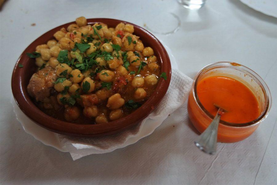 Garbanzas, comida típica canaria