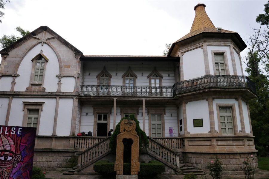 Fachada del museo de Arte Contemporáneo de Morelia