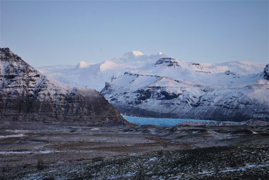 Región de los glaciares de Islandia
