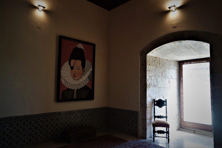 Alcoba de la princesa de Éboli en el Palacio de Pastrana
