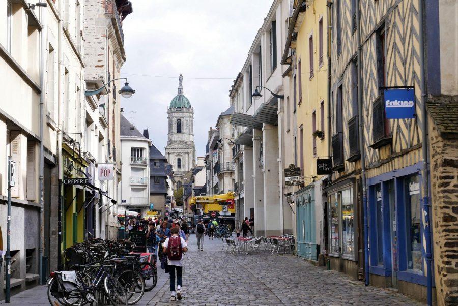 Ambiente universitario en Rennes