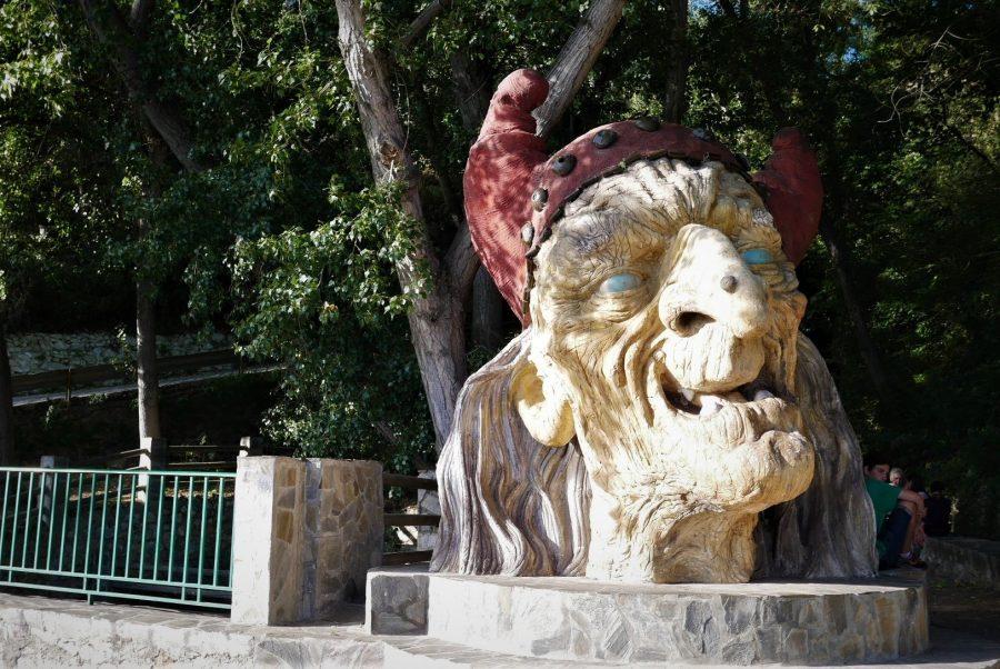 Cabeza de bruja, Soportújar, Granada