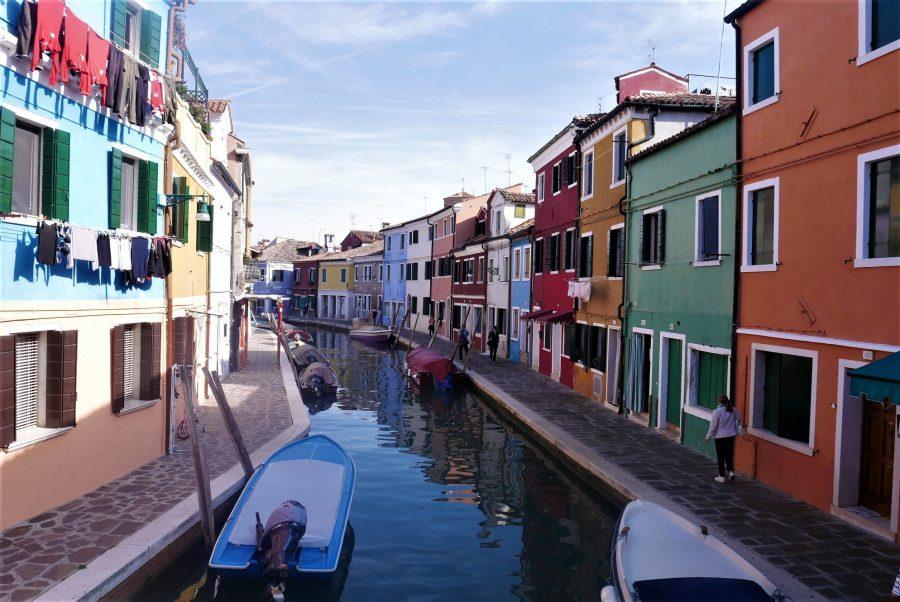 Canales de Burano, la isla de colores