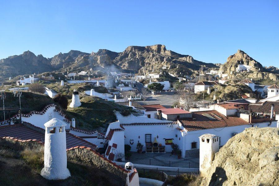 Casas cuevas de Guadix