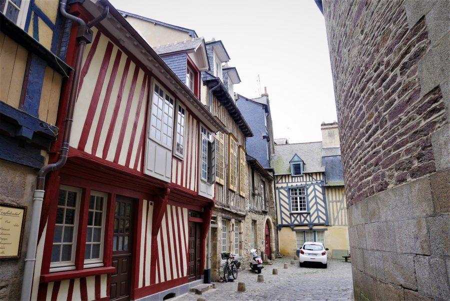 Las casas más antiguas de Rennes