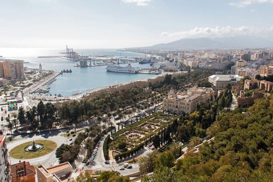 Málaga desde el Gibralfaro