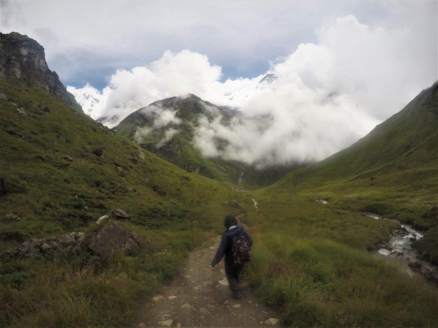 Senderos del Himalaya, macizo del Annapurna