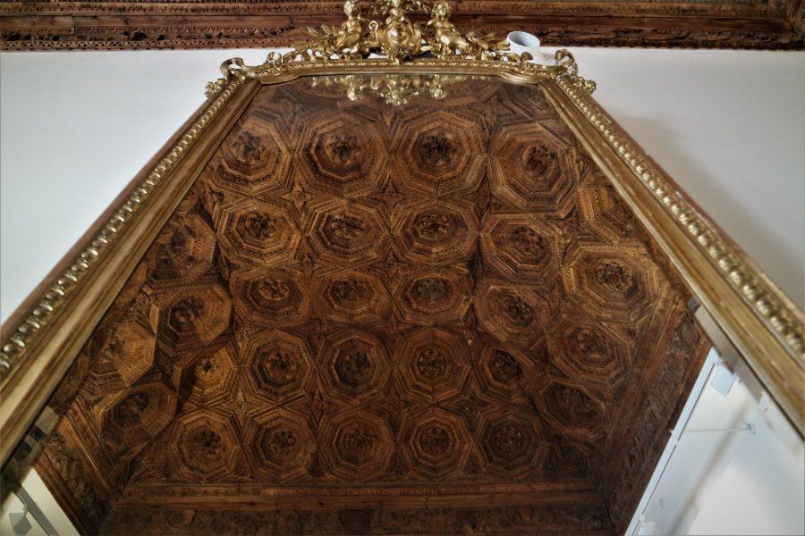 Techo del Palacio Ducal en Pastrana