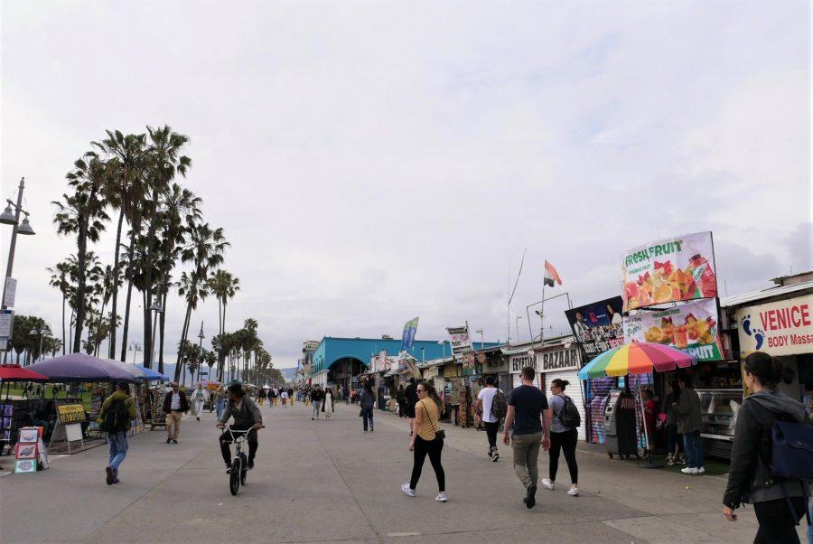 Venice Beach, seguro para viajar a Estados Unidos