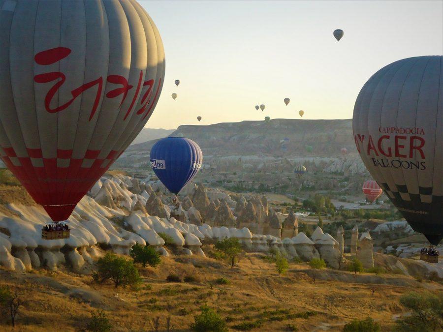 Volar en globo en La Capadocia es una experiencia viajera top
