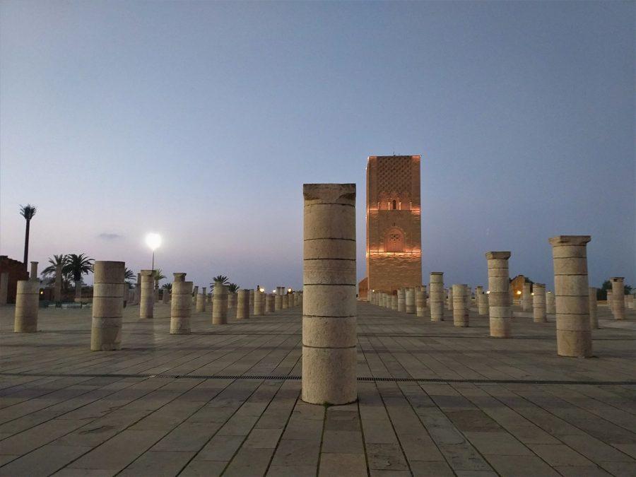 Torre de Hassan, Rabat