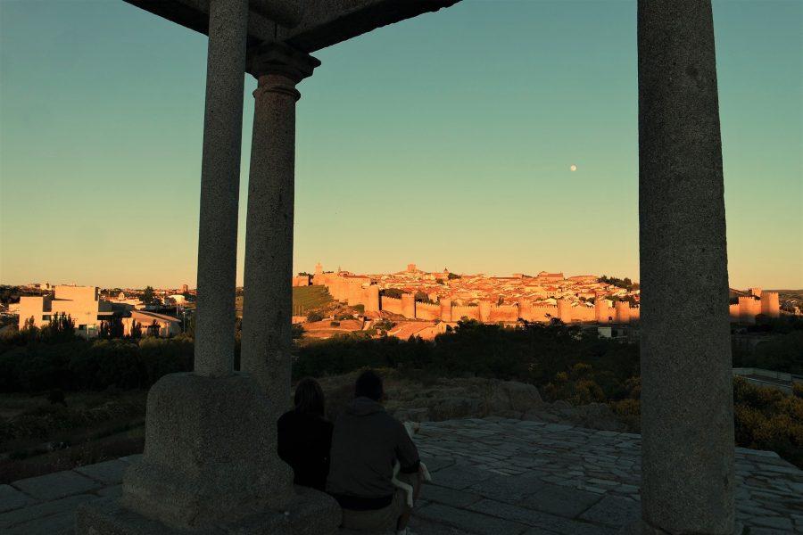 Mirador de los Cuatro Postes, qué ver en Ávila