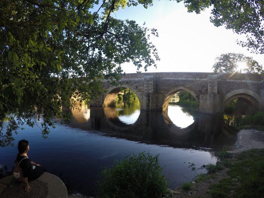 Puente romano de Lugo, ruta por Galicia en coche
