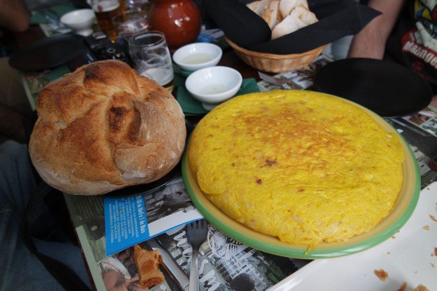 Tortilla española, platos típicos del mundo