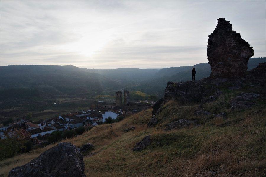 Vistas de Alcaraz desde el castillo