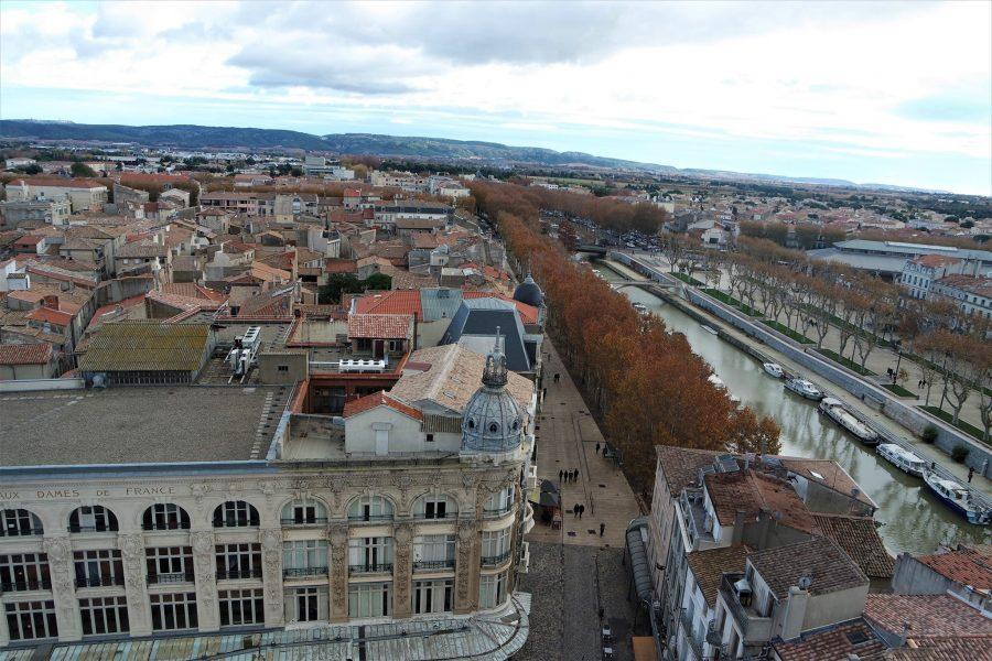 Vistas de Narbona desde la torre