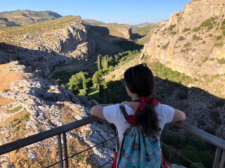 Vistas del paisaje de Nerpio, Albacete