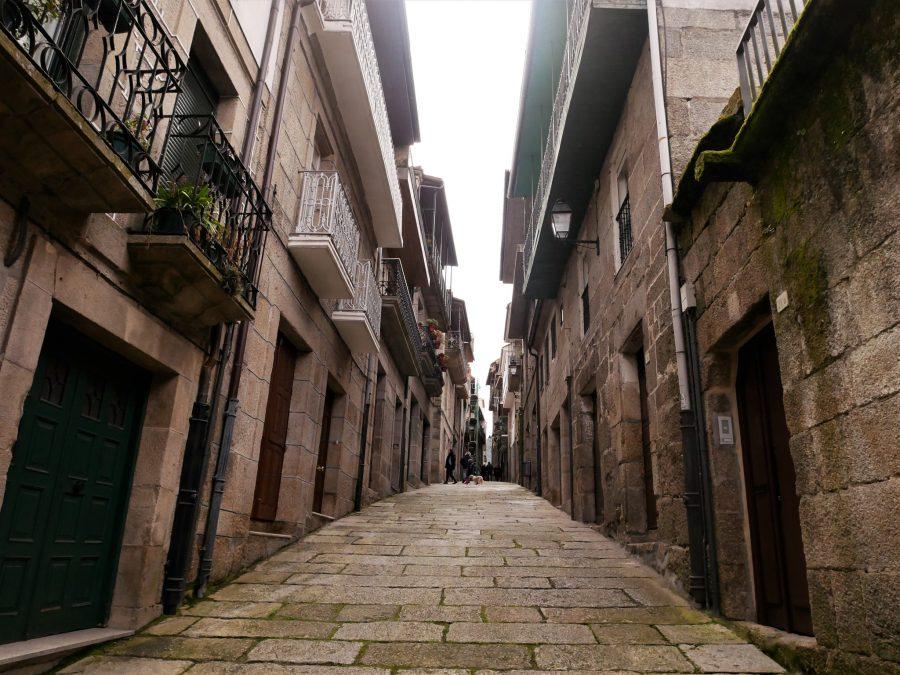 Calles del centro histórico de Ribadavia