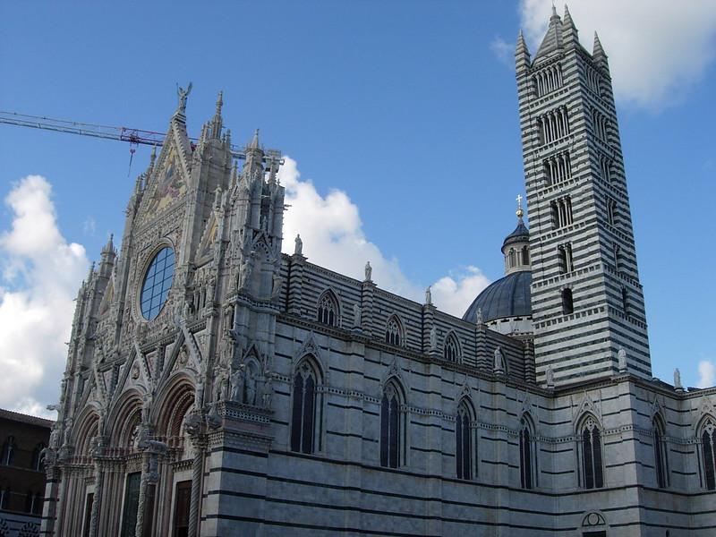 Duomo de Siena, ruta por La Toscana en coche de 4 días