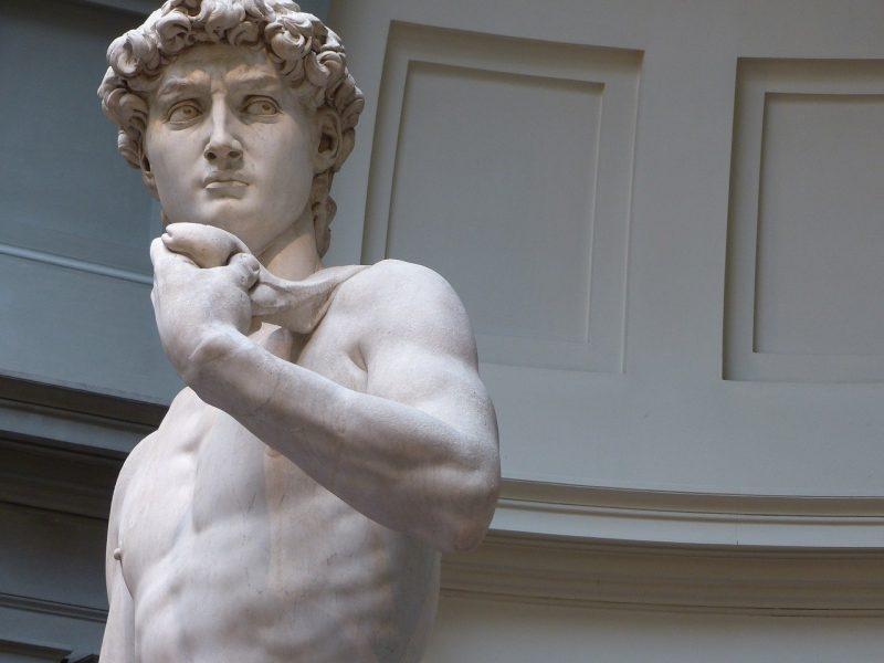 El David de Miguel Ángel, Florencia