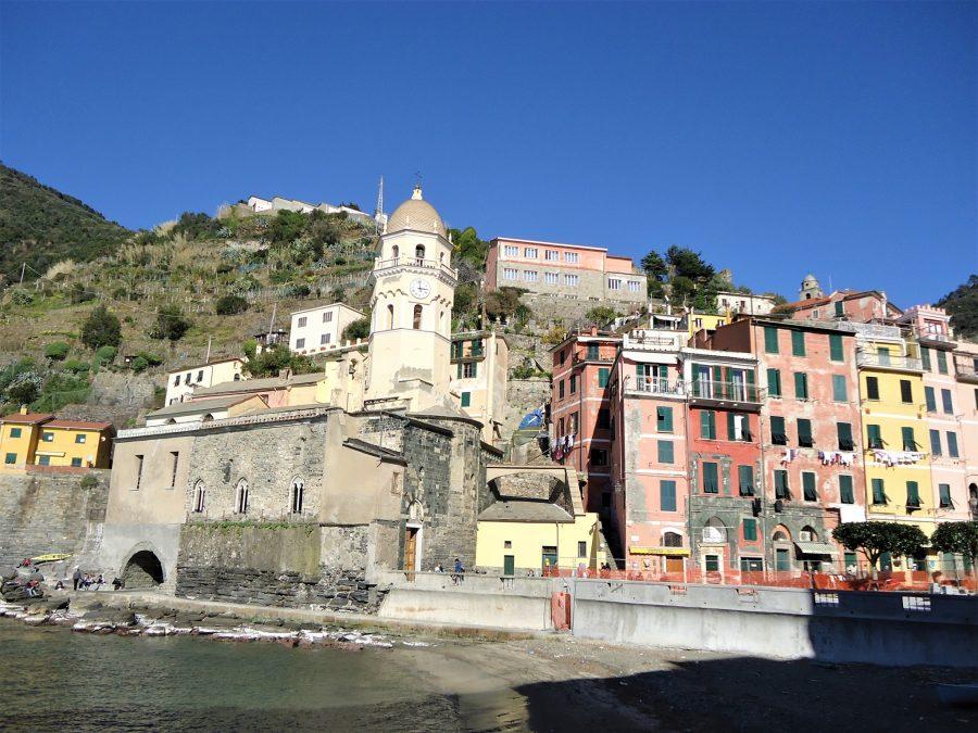 Iglesia de Vernazza en Cinque Terre